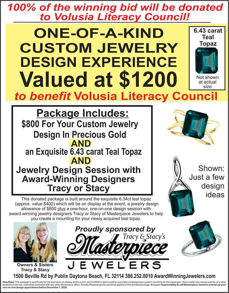 Beautiful holiday gifts, custom engagement rings and unique jewelry are waiting for you at Masterpiece Jewelers in Daytona Florida!