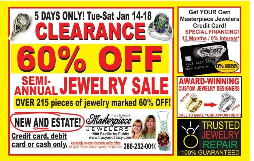 Visit the best Daytona Beach jewelry store for a great sale!