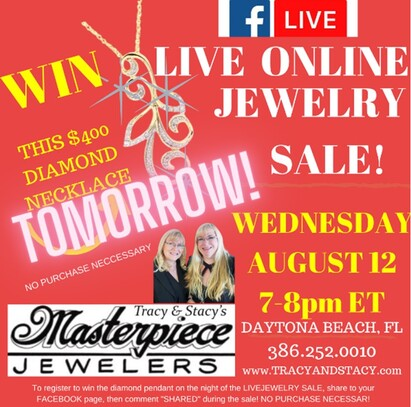 Join your Daytona family jewelers for their online sale!